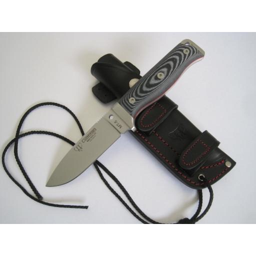 120M Cudeman Black Micarta MT5 Survival Knife