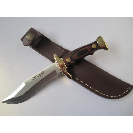 204R Cudeman Stamina Wood Small Bowie Knife