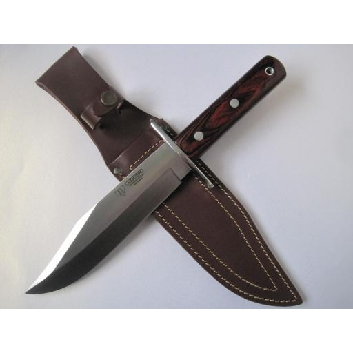 107R Cudeman Huge 13.25 Inch Stamina Wood Bowie Knife