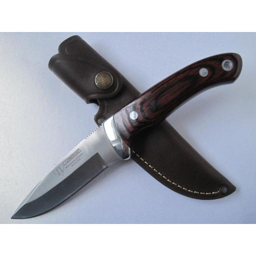 290R Cudeman Stamina Wood Bush Craft Knife