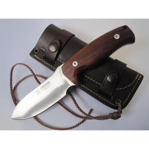 298K Cudeman Cocobolo Wood Survival Knife
