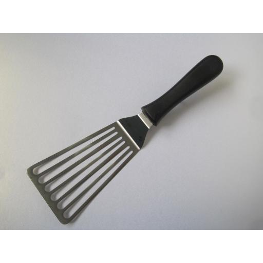 Slotted Frying Spatula, 7 inches, 17cm, From The Supra Range By Sanelli Ambrogio