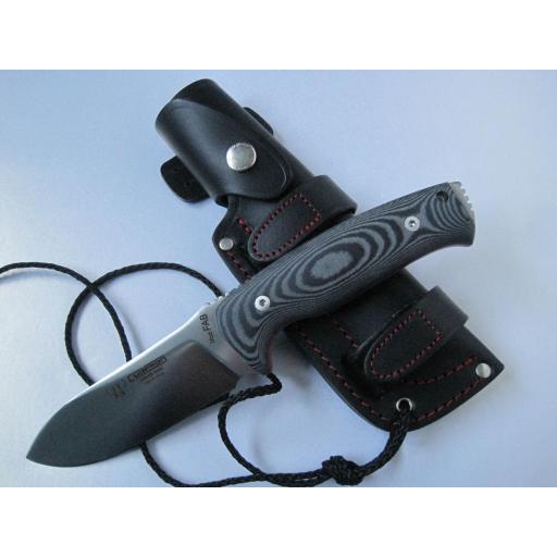298M Cudeman Black Micarta Survival knife