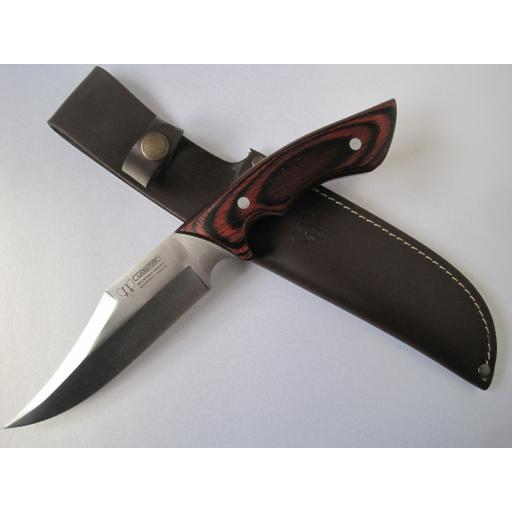 121R Cudeman Stamina Wood Spearpoint Hunting Knife