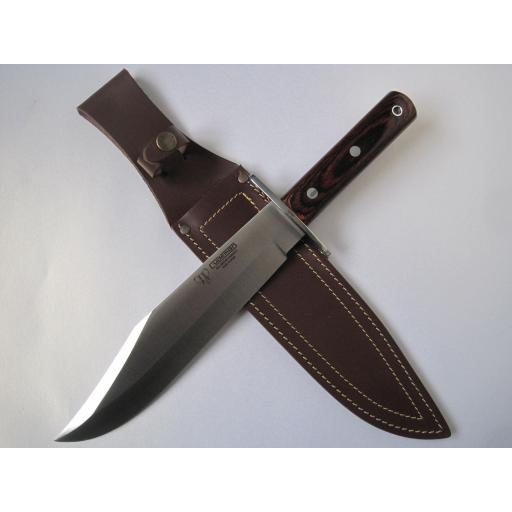 106R Cudeman Huge 15 Inch Stamina Wood Bowie Knife
