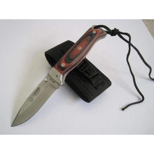 384R Cudeman MT4 Stamina Wood Folding Bush Craft Knife