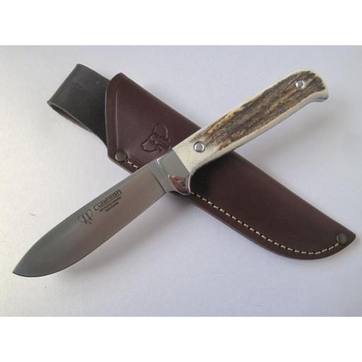 228C Cudeman Stag Bush Craft Knife