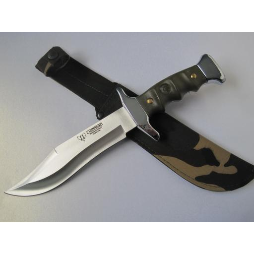 203V Cudeman Green ABS Medium Bowie Knife