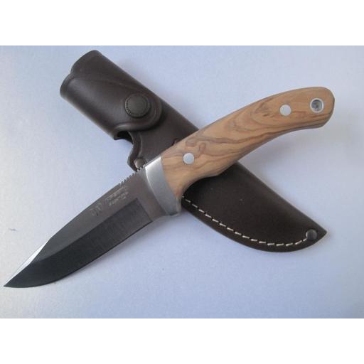 290L Cudeman Olive Wood Bush Craft Knife