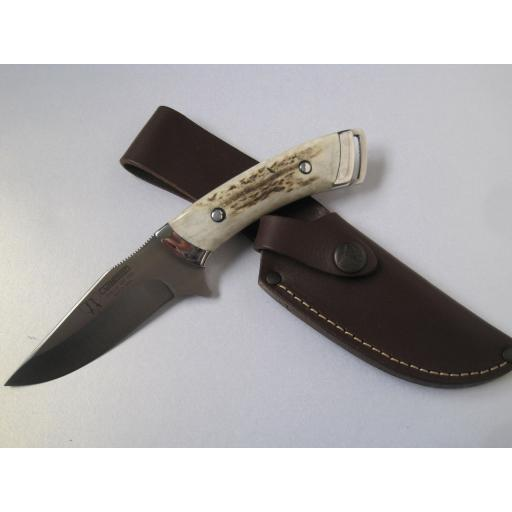 222C Cudeman Stag Sporting Knife. Sale price.