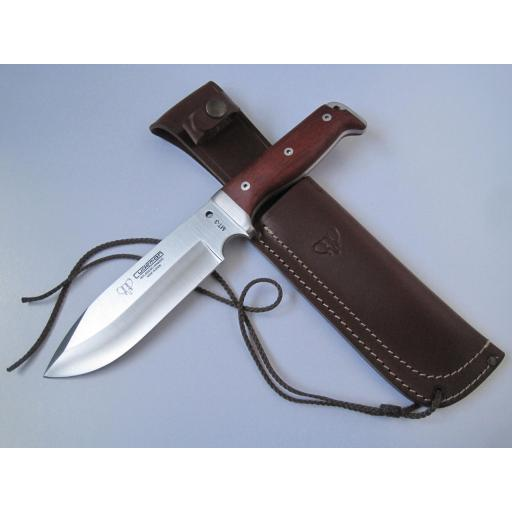 297K Cudeman Cocobolo Wood MT3 Survival Knife